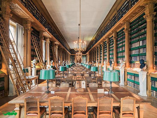 کتابخانه Mazarine، پاریس، فرانسه