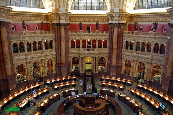 کتابخانه کنگره، واشنگتن دی سی، ایالات متحده آمریکا