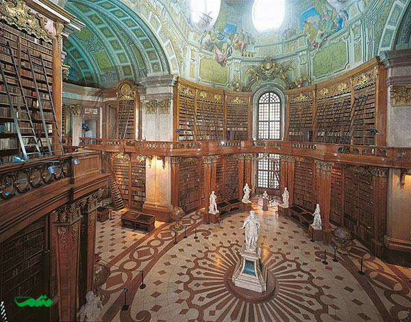 کتابخانه ملی اتریش، وین، اتریش
